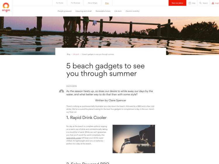 5 beach gadgets to see you through summer