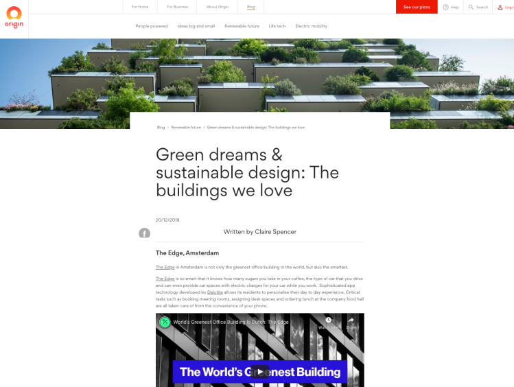 Green dreams and sustainable design